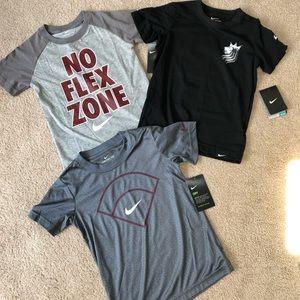 3 size 6 Nike tees NWT